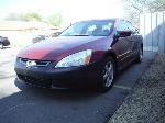 Lot: 07 - 2005 Honda Accord - Key / Starts & Drives