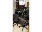 Lot: 3-BE - (15) OFFICE CHAIRS, SALON CHAIRS & WOOD PIECES