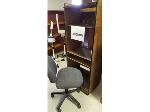 Lot: 9-BE - ROLLING DESK, CHAIR