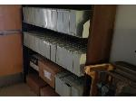 Lot: 11-BE - MICROFILM READER, FILE CABINET