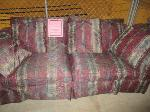 Lot: 33-SP - (2) FABRIC COUCHES