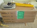 Lot: 41-SP - 3-RING BINDERS, LIGHT BULBS, ROLL OF PAPER, POSTERS