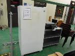 Lot: A62-UV - FREEZER, COFFEEMAKER, PROJECTOR, TABLE, CHAIRS