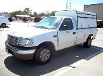 Lot: 3065 - 1999 FORD F250XL TRUCK W/ CAMPER