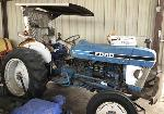 Lot: 1078.VV - FORD TRACTOR