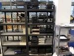 Lot: 17,18&19.PD - Hole Punches, Transcription Foot Controls & File Trays