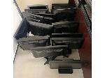 Lot: 3 - (Approx 15) Monitors w/ Stands