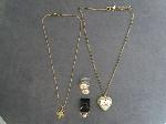 Lot: 185 - NECKLACES & 10K RING