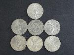 Lot: 195 - 1982 .999 ONZA SILVER ROUNDS