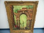 Lot: A7603 - Classic Archway Painting by A Monelli