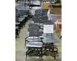 Lot: 743 - (30) CHAIRS ON WHEELS