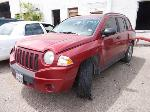 Lot: 1954 - 2007 JEEP COMPASS SUV - KEY / STARTED