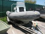 Lot: 2.AUSTIN - 2000 Zodiac 17-ft Boat & Trailer