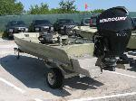 Lot: 3.AUSTIN - 1997 Roughneck 14-ft Boat, Motor & Trailer