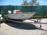 Lot: 47.AUSTIN - 1995 VIP 17-ft Boat, Motor & Trailer