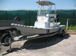 Lot: 51.AUSTIN - 1998 Mowdy 18-ft Boat, Motor & Trailer