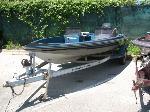 Lot: 54.AUSTIN - 1989 Ranger 18-ft Boat, Motor & Trailer