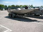 Lot: 55.AUSTIN - 2005 War Eagle 19-ft Boat & Trailer