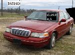 Lot: 62-151190 - 2001 FORD CROWN VICTORIA<BR>VIN# 2FAFP73W61X206057
