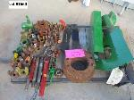 Lot: 117- 1660 - TRACTOR PARTS: FILTERS, YOKES, BRACKETS