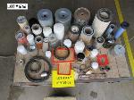 Lot: 123-1666 - TRACTOR REPAIR PARTS: FILTERS, SPRING, BEARINGS
