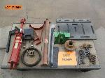 Lot: 146-1689 - TRACTOR REPAIR PARTS: DRY CHEMICAL GUAGE, CHAIN SPROCKET