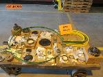 Lot: 157-1700 - JOHN DEERE PARTS: PULLEY, KING PIN, BRACKET, COVERS