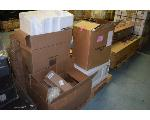 Lot: 1381 - Pallet Of Mixed Returns Microwave, Vacuum Cleaner, Seed Spreader and More