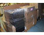 Lot: 1387 - Vertical File Cabinet, Cash Drawer, Black Office Chairs, 2 Drawer Steel File Cabinet, and More