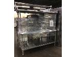 Lot: 6312 - (2) Metal Tables
