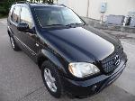 Lot: A7609 - 2001 Mercedes ML430 Sport Utility - Runs