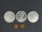 Lot: 7085 - AMERICAN EAGLE DOLLARS & FOREIGN COINS