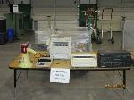 Lot: 940&941 - TYPEWRITER, FAX MACHINE, CALCULATOR, VCRS, DVD PLAYERS & PHONOGRAPH