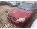 Lot: 1619 - 1999 Honda Civic  - Key / Runs & Drives