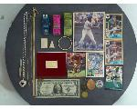 Lot: 7109 - TOKENS, BASEBALL CARDS, 14K BRACELET & 14K NECKLACE<BR><span style=color:red>No Credit Cards Accepted! CASH OR WIRE TRANSFER ONLY!</span>