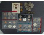 Lot: 7124 - PROOF SETS, MINT SET, NICKELS & FOREIGN COINS