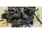 Lot: 8.BE - Cart, TV DVD player, (10) Chairs