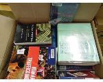 Lot: 84.UV - (24 BOXES) LIBRARY BOOKS, DESK ORGANIZER, FAX MACHINE