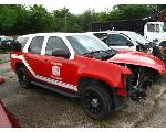 Lot: 05165 - 2013 CHEVY TAHOE SUV - FOR PARTS ONLY - KEY