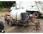 Lot: 62030 - 1998 TRAILMASTER TRAILER WITH POWER WASHER