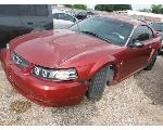 Lot: 09-662371C - 2003 FORD MUSTANG