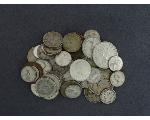 Lot: 247 - FOREIGN COINS & MERCURY DIME
