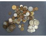 Lot: 254 - FOREIGN COINS, 2 CENT PIECE & DIME