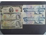 Lot: 266 - RED SEAL $2 BILL & FOREIGN CURRENCY