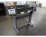 Lot: 584 - HP Designjet Printer