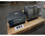 Lot: 593 - (4) Switches & (3) Routers
