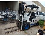 Lot: 649 - Clark Forklift