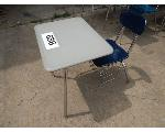 Lot: 656 - (12) School Desks