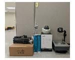 Lot: 04.NK - IP Camera, Digital Radios, Switches, UPS, Projector