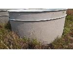 Lot: CORP-09.CORPUSCHRISTI - (5) 8ft x 3ft Fiberglass Tanks